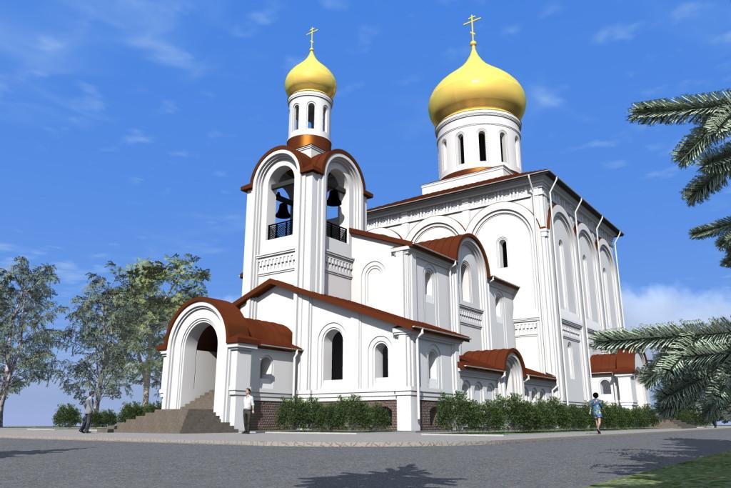 проект храма свв. апп. Петра и Павла